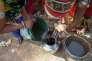 Eau boueuse extraite d'un puitsà Vadhvan, dans l'Etat de Gujarat (Inde), le 19 avril.
