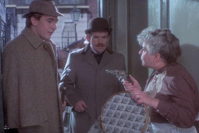 Robert Stephens (Sherlock Holmes) et Colin Blakely (John Watson) dans«La Vie privée de Sherlock Holmes» (1970), de Billy Wilder.