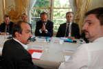 Lundi 7 mai, le premier ministre a reçu les organisations syndicales pour tenter de négocier une sortie de la crise à la grève à la SNCF.