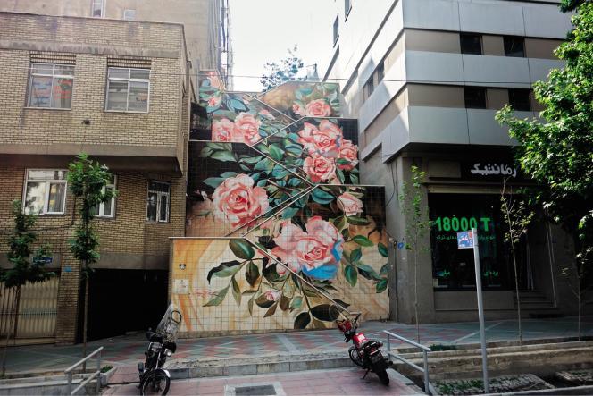 L'avenue Valiasr, à Téhéran.