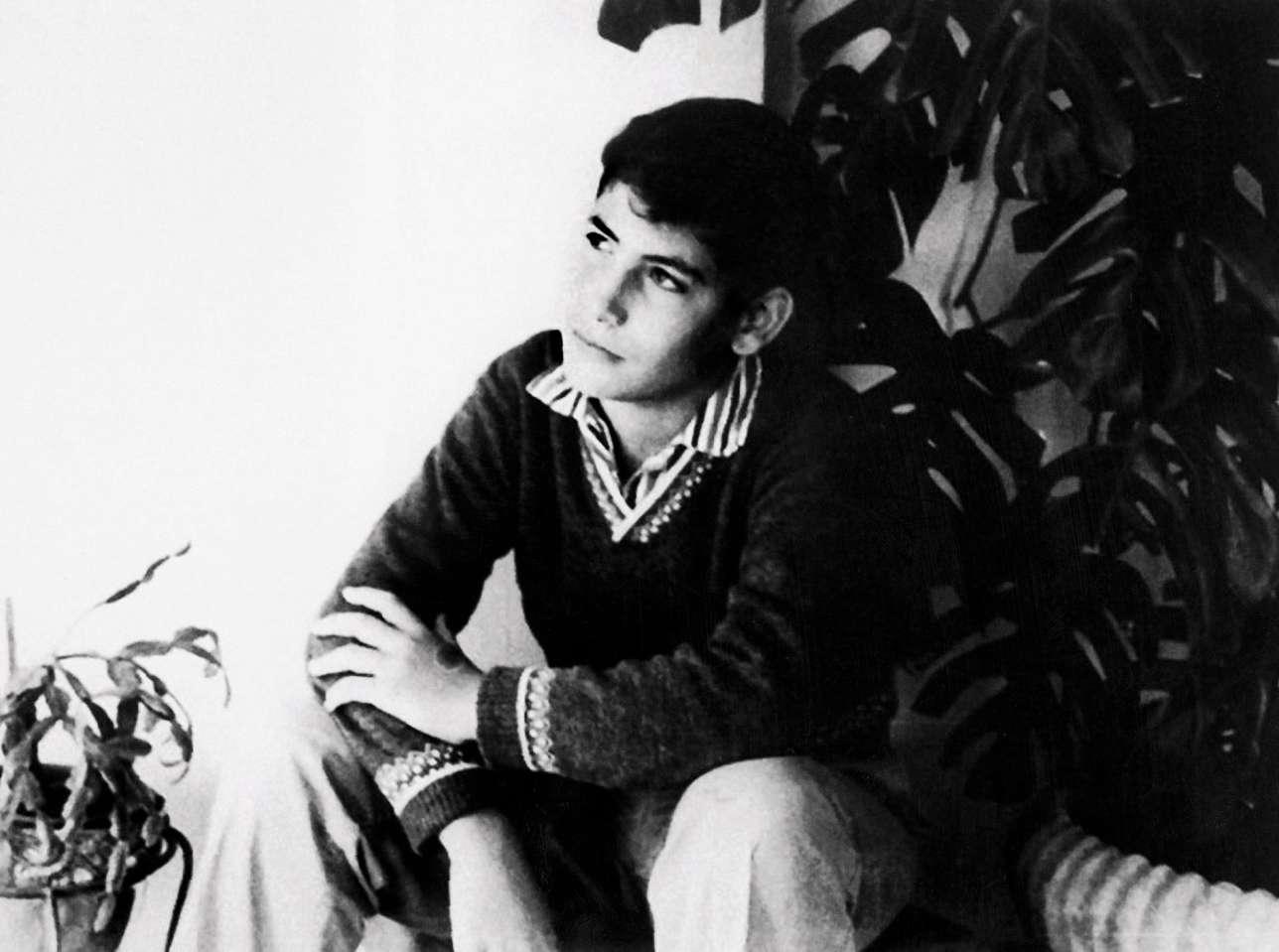 Benyamin Nétanyahou est élevé par une famille militante de droite. Ici, enfant, en 1964.