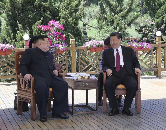 Cette nouvelle visite souligne les efforts de la Chine et de la Corée du Nord pour réchauffer leurs relations bilatérales.