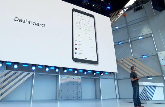 Le Dashboard indique les applications les plus utilisées.