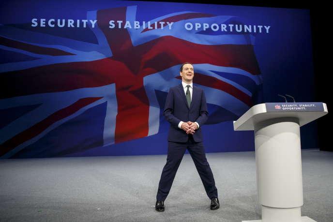 George Osborne, alors ministre des finances britannique, lors d'un congrès du parti conservateur, à Manchester, le 5 octobre 2015.