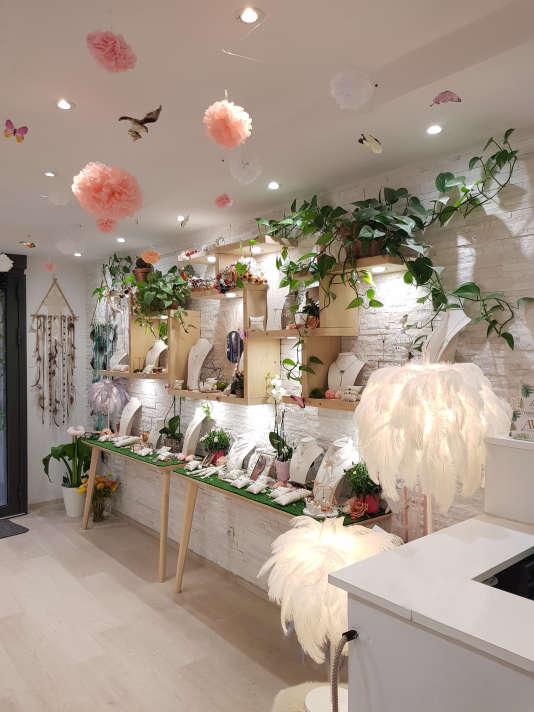 L'atelier de bijoux d'Alice Vidal.