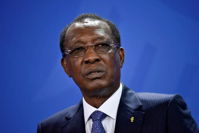 Le président tchadien, Idriss Déby, à Berlin (Allemagne) en octobre2016.