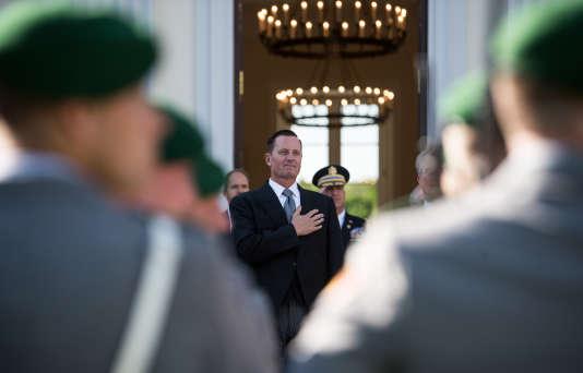 Richard Grenell, le nouvel ambassadeur des Etats-Unis en Allemagne,à Berlin, le 8mai, jour de sa prise de fonctions.