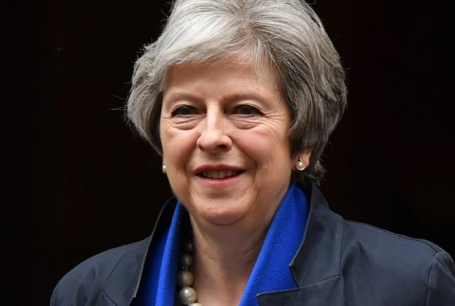 Theresa May, la première ministre britannique, à Londres le 2 mai.
