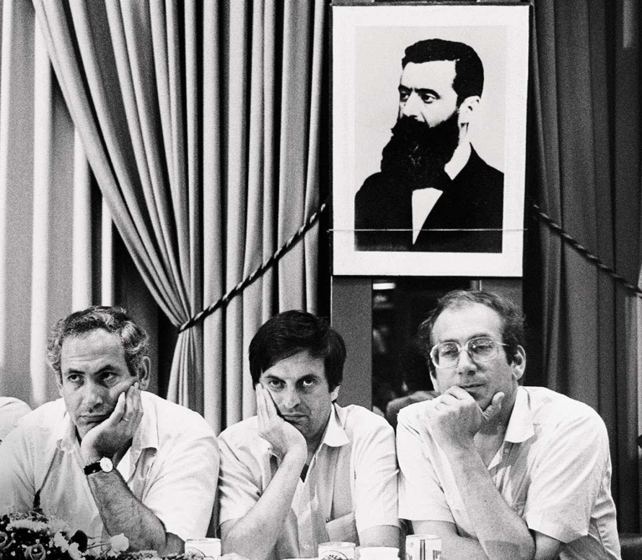 Benyamin Nétanyahou est depuis vingt-cinq ans le pilier du Likoud, la formation historique de la droite. Ici, en 1988.