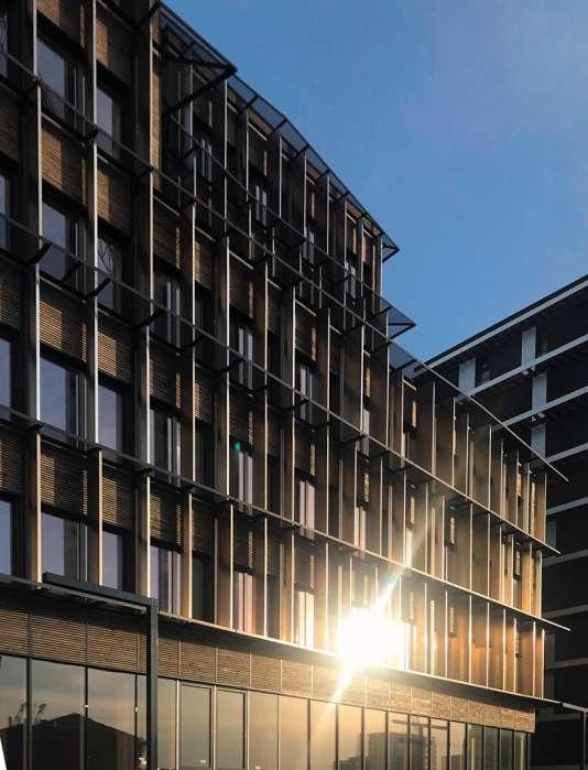 A Bordeaux, Perspective, un immeuble de bureaux à la structure en bois massif, sera livré à l'été 2018.