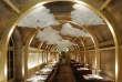 Pour le décor du Refettorio, restaurant solidaire installé dans la crypte de l'églisede la Madeleine, Ramy Fischler a recyclé matériaux de construction et mobilier.