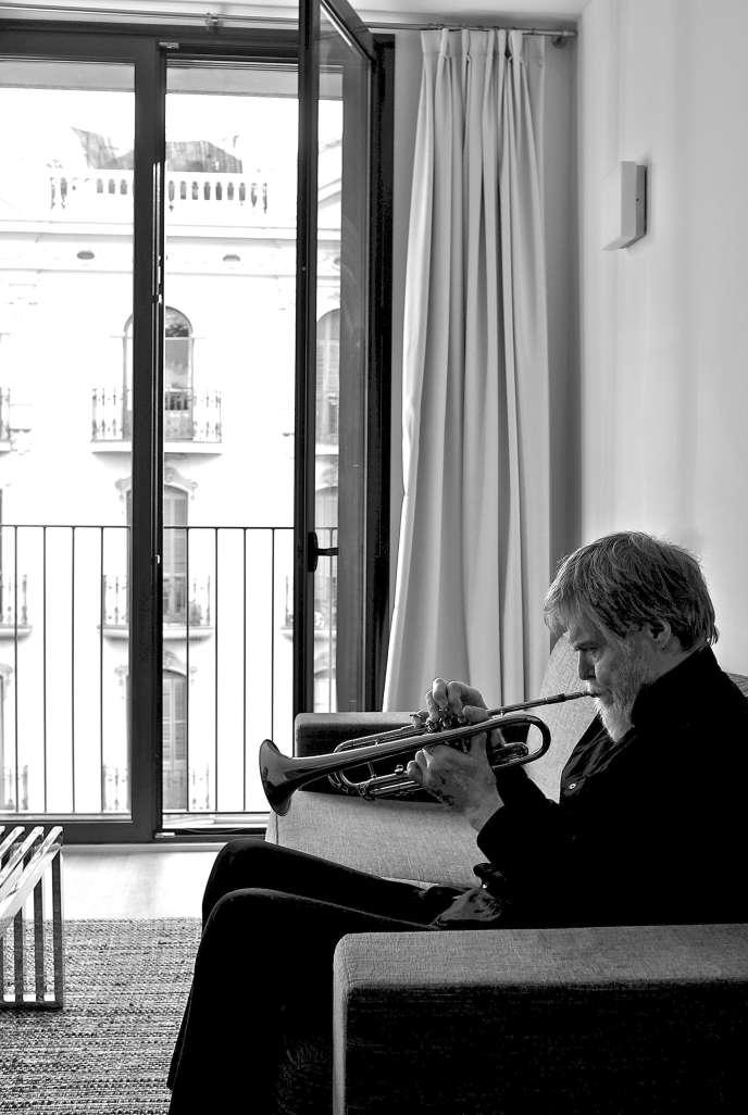 Le trompettiste et bugliste Tom Harrell, en juillet 2013.