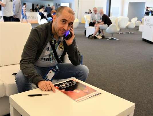 Farouk, rédacteur en chef de«Cocoricovision», le magazine des fans de l'Eurovision.