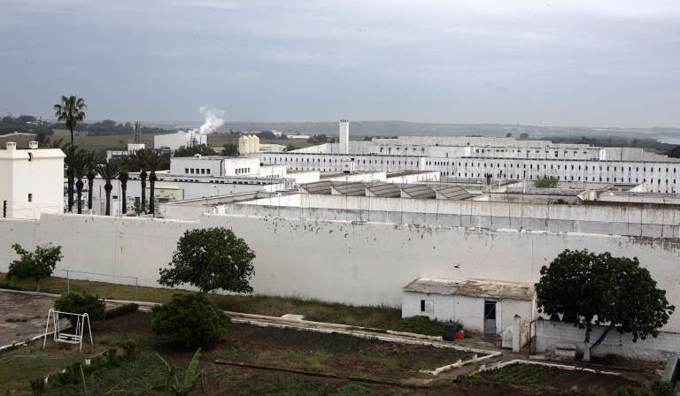 La prison de Kenitra, au Maroc, en2008.