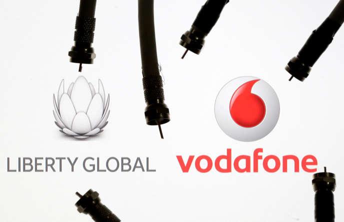 Vodafone a annoncé mercredi 9 mai le rachat d'une partie des actifs européens de Liberty Global pour 18,4milliards d'euros (image d'illustration).