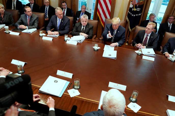 Réunion au sommet à la Maison Blanche mercredi 9 mai.