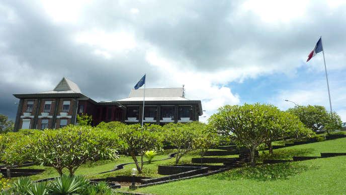 Préfecture de Mayotte à Mamoudzou sur l'île de Grande-Terre.