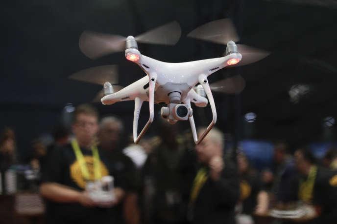 Un drone en démonstration au CES de Las Vegas