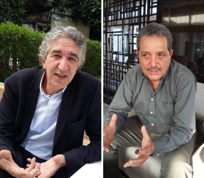 Les listes indépendantes menées par Slim Meherzi (à gauche) et Fadhel Moussa (à droite) sont arrivées en tête respectivement à La Marsa et à l'Ariana, près de Tunis, à l'issue du scrutin municipal du 6 mai 2018.