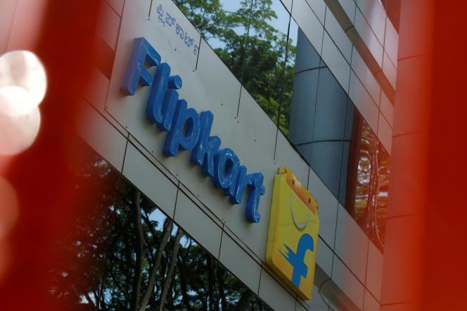 Le siège de Flipkart, à Bangalore (sud de l'Inde), le 12 avril.