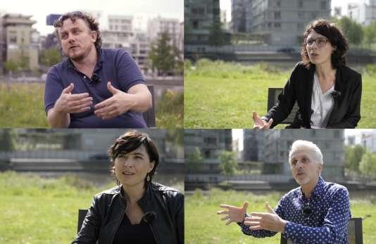 Captures d'écran des vidéos réalisées par l'Ecole urbaine de Lyon.