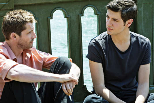 Pierre Deladonchamps et Vincent Lacoste dans «Plaire, aimer et courir vite», de Christophe Honoré, en compétition au 71e Festival de Cannes.