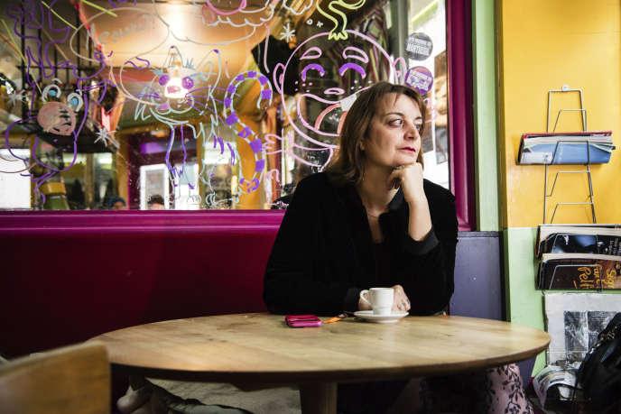 Anne-Sarah Kertudo, à Paris, en décembre 2017.