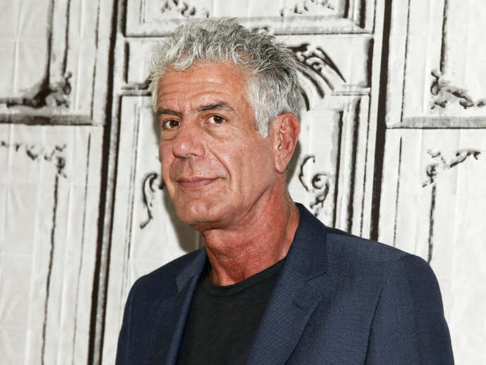 Anthony Bourdain, en novembre 2016, à New York.