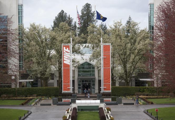 Au siège de Nike, à Beaverton, dans l'Oregon.