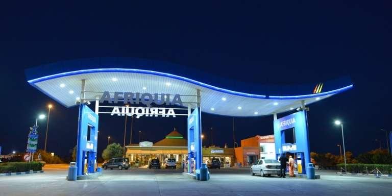 Une station d'essence du réseau Afriquia.