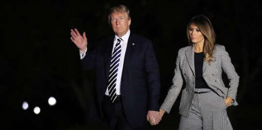 La dernière fois que Melania Trump a été vue en public remonte à la nuit du 10mai, lorsqu'elle était venue accueillir avec le président trois anciens prisonniers américains que Pyongyang venait de libérer.