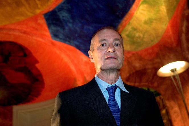 L'artiste danois Per Kirkeby à Copenhague en 2004.