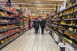 Un supermarché de Lille (Nord), le 30 novembre 2016.