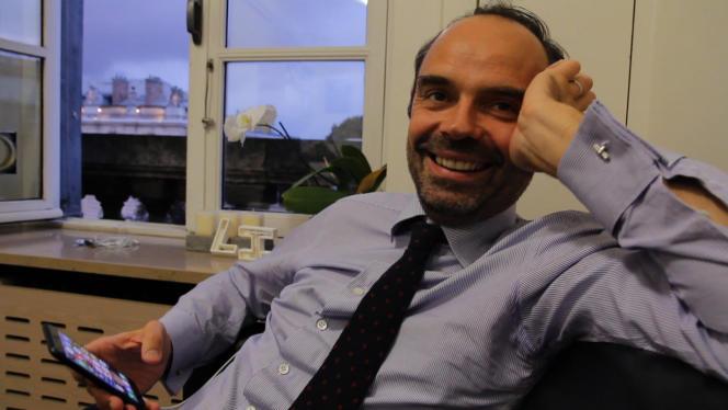 Image extraite du documentaire de Laurent Cibien, « Edouard Philippe, mon pote de droite, épisode 2 : Primaire ».