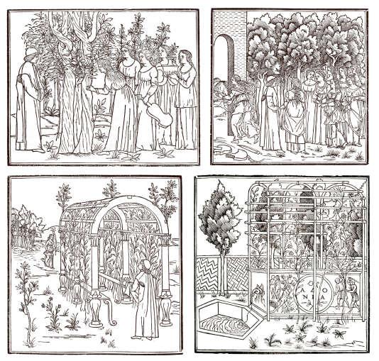 « Hypnerotomachia Poliphili» (« Songe de Poliphile»), Francesco Colonna (1433-1527), édition de 1499.