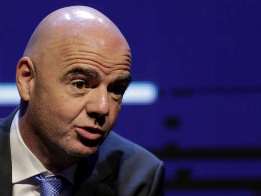 Le président de la FIFA, Gianni Infantino, le 11 mai.