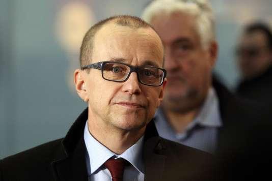 Tero Varjoranta, alors responsable des inspections au sein de l'AIEA, à Vienne, le 10 février 2014.