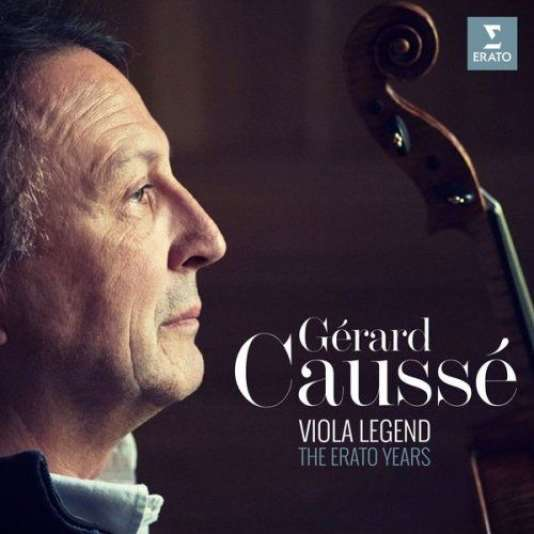 Pochette du coffret « Viola Legend – The Erato Years », consacré à l'altiste Gérard Caussé.