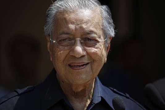 Mahathir Mohamad à Kuala Lumpur, vendredi11 mai.