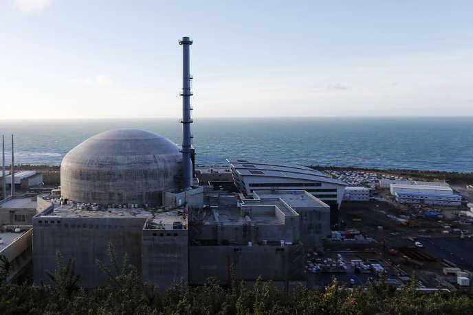 Le chantier de l'EPR de EDF à Flamanville, dans la Manche, en novembre 2016.