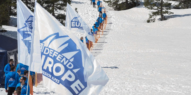 Dans les Hautes-Alpes, les militants de Génération identitaire sont  passibles de poursuites
