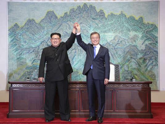 Les leaders des deux Corées se rencontrent le 27 avril dans la zone démilitarisée.