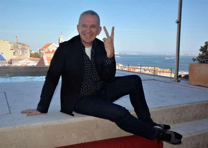 Jean-Paul Gaultier, le plus haute couture des fans de l'Eurovision, à Lisbonne.