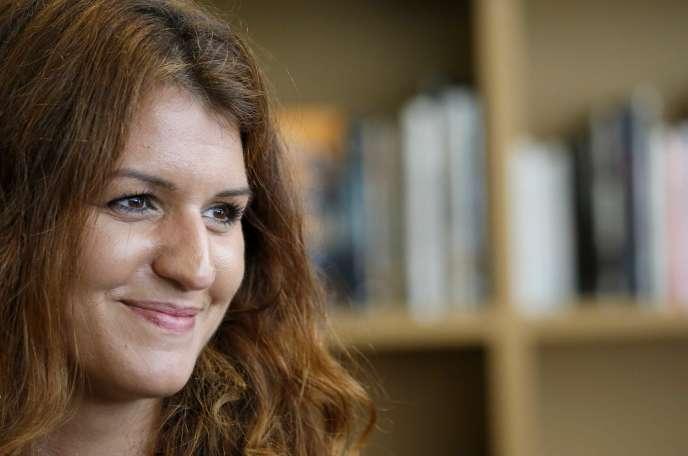 Marlène Schiappa, secrétaire d'Etat chargée de l'égalité entre les femmes et les hommes, le 12 mai.