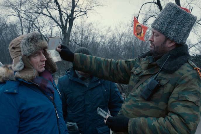 Une scène extraite du film ukrainien de Sergei Loznitsa,« Donbass».
