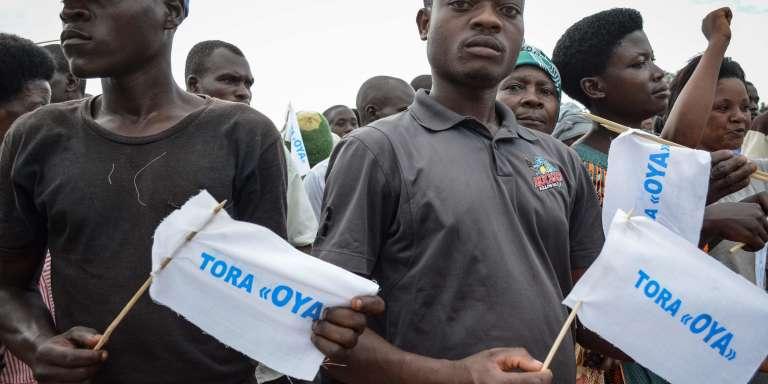Des partisans du non, le 11 mai àKabezi.