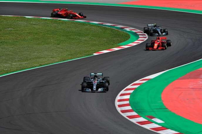 Lewis Hamilton s'est imposé lors du Grand Prix d'Espagne.