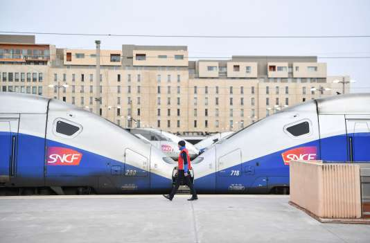 En gare de Marseille Saint-Charles, le 3 avril.