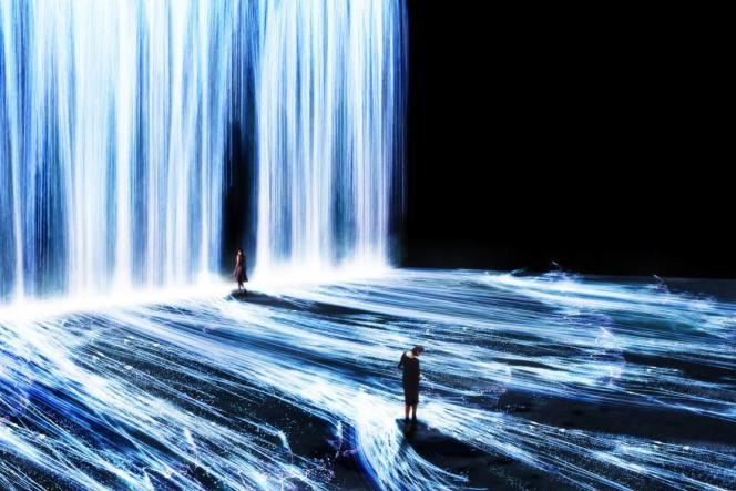 «Universe of Water Particles».