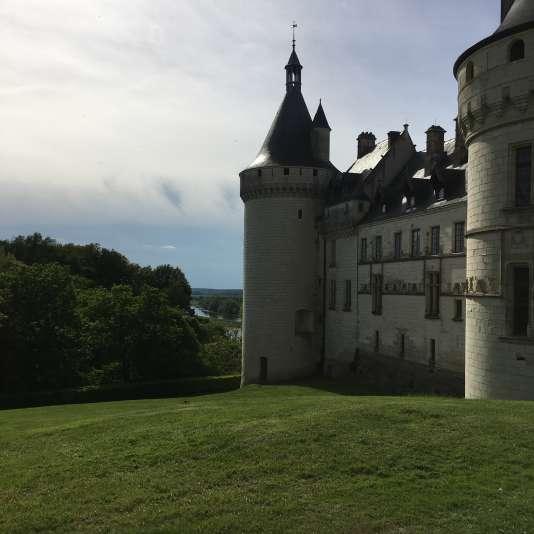 Le château, entièrement restauré au XIXe siècle.